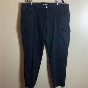 Joe Fresh black skinny jeans size 22W